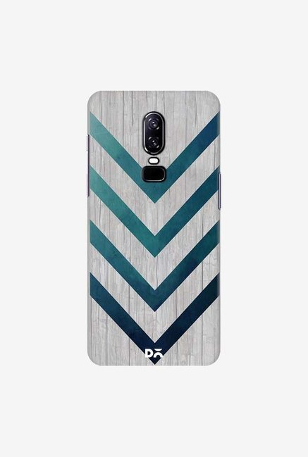 DailyObjects Blue Arrow Case Cover For OnePlus 6