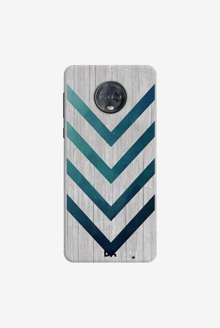 DailyObjects Blue Arrow Case Cover For Motorola Moto G6 Plus