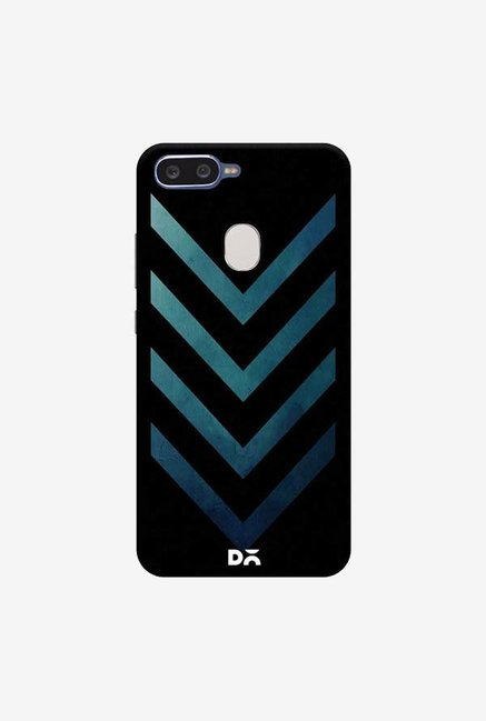 DailyObjects Dark Blue Arrow Case Cover For Oppo F9