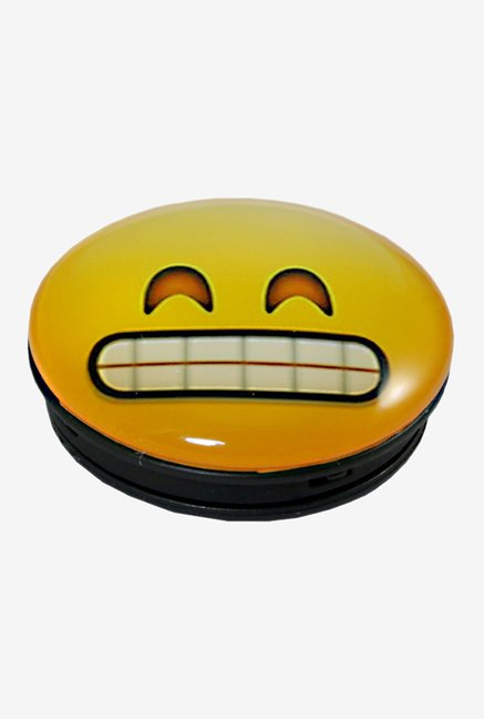 9a216522d85 Parallel Universe Emoji Grinning Face with Smiling Eyes Popsocket for  Smartphones (Yellow)