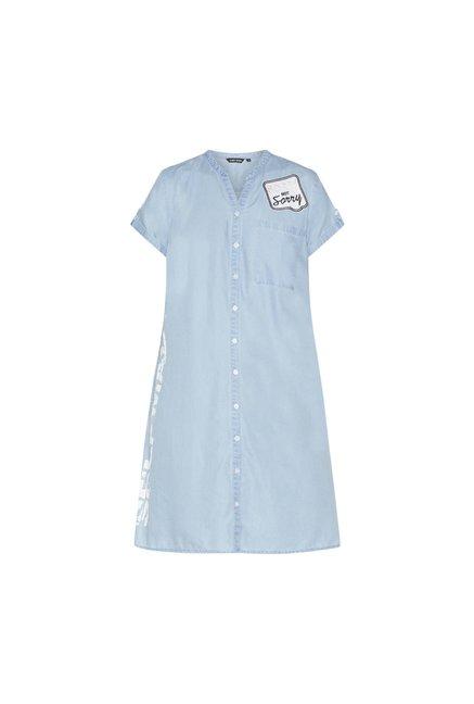 9ebdc9cc078 Buy Sassy Soda curve by Westside Blue Denim Kara Dress for Women ...