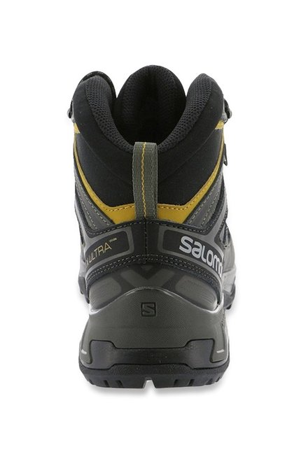 check out 71d9a d89f5 Buy Salomon X Ultra 3 Wide Mid GTX Olive & Grey Hiking Shoes ...