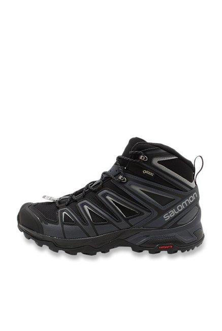 meet b27b5 786b2 Buy Salomon X Ultra 3 Wide Mid Black Hiking Shoes for Men at ...