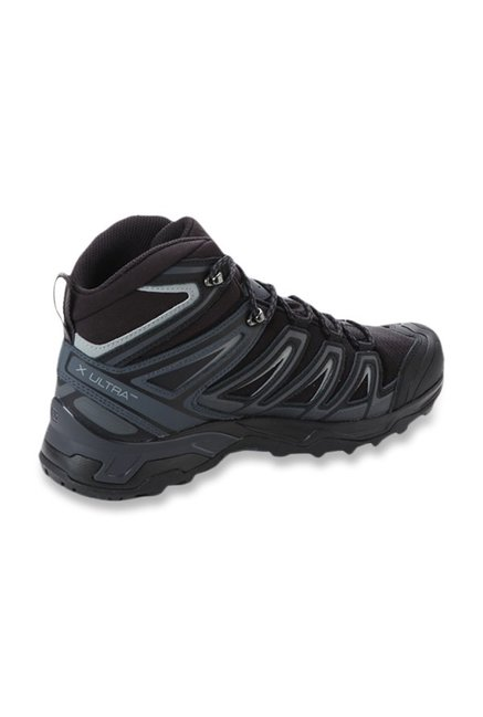 meet e985a c4413 Buy Salomon X Ultra 3 Wide Mid Black Hiking Shoes for Men at ...