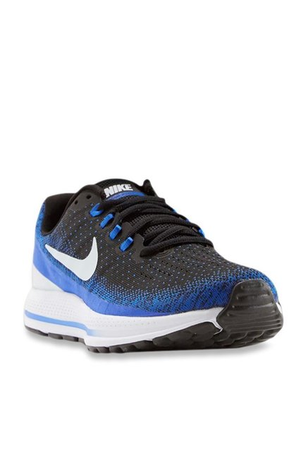 a2b3df0bb81 Buy Nike Air Zoom Vomero 13 Black   Blue Running Shoes for Men at Best  Price   Tata CLiQ
