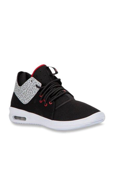 official photos d80c1 f12d1 Buy Nike Air Jordan First Class Black Basketball Shoes for Men at Best  Price   Tata CLiQ