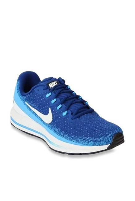 official photos c6273 6608a Buy Nike Air Zoom Vomero 13 Gym Blue Running Shoes for Men ...