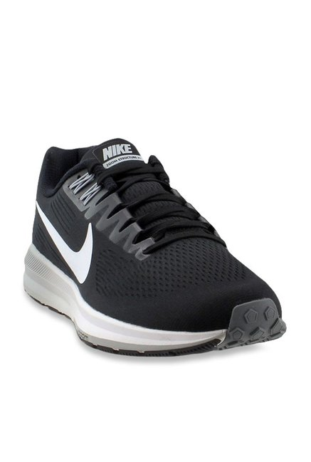 wholesale dealer 4e30e 11a8b Buy Nike Air Zoom Structure 21 Black Running Shoes for Men ...