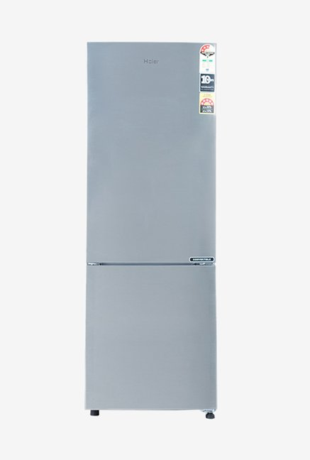 Haier 256L 3 Star  2019  Frost Free Double Door Bottom Mount Refrigerator  Grey, HRB 2763CSS E