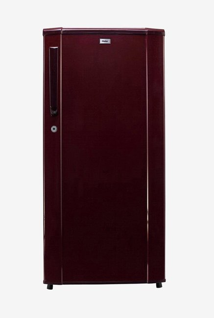Haier HRD 1813SR E 181L 3 Star Direct Cool Single Door Refrigerator  Maroon