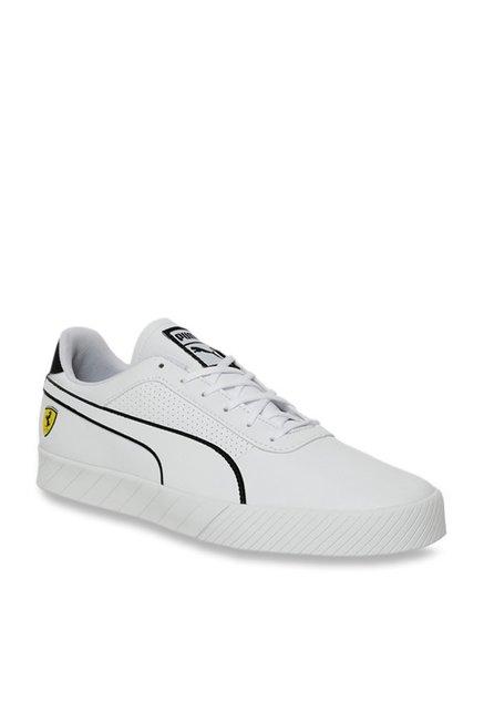 puma ferrari shoes white