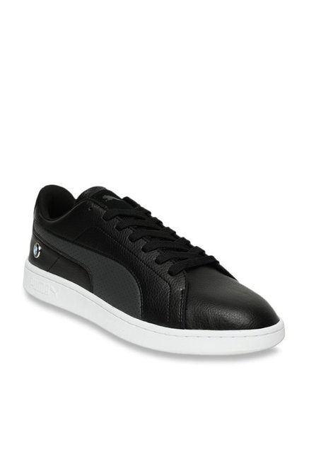 Puma BMW MMS Smash V2 Black Sneakers