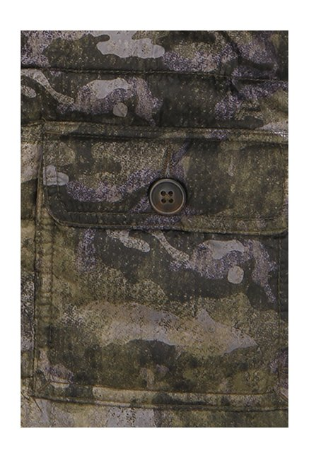 9ad02a05d1d3f Buy Indian Terrain Kids Olive Camouflage Hood Jacket for Boys ...