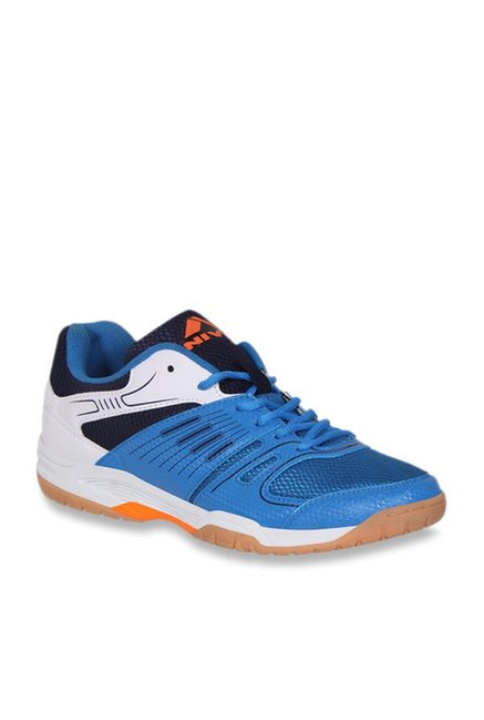 Buy Nivia Gel Verdict Blue \u0026 White