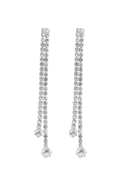 Buy Ayesha Clear Dangler Earrings Online At Best Price @ Tata CLiQ