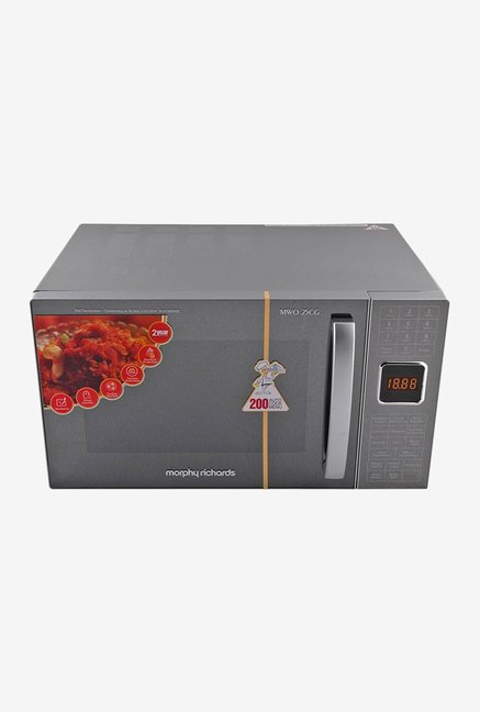 Morphy Richards 790001 MWO 25 CG 200 ACM 25L Convection Microwave Oven  Silver