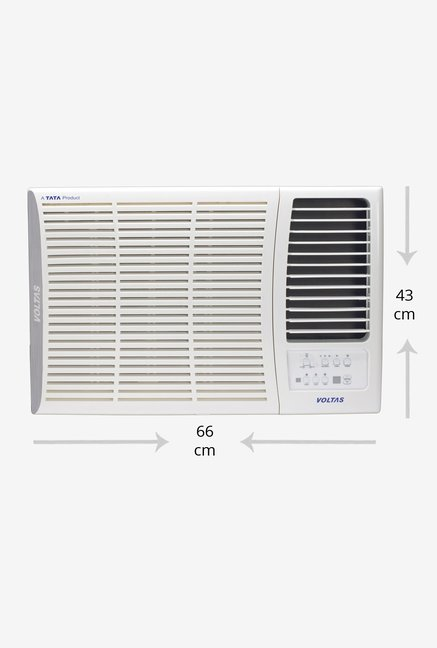 9a99c69e685 Buy Voltas 1.5 Ton Inverter 5 Star Copper 185V DZA Window AC Online ...