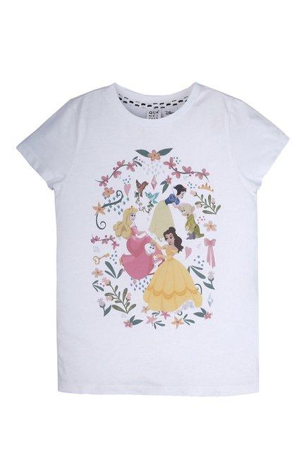 Disney Princess A Princess Thing White Kids T-Shirt