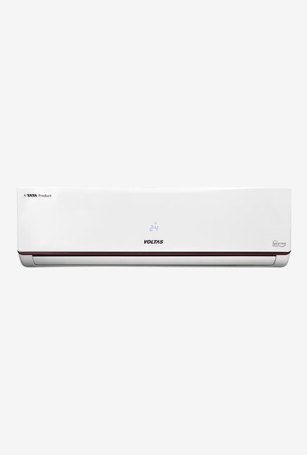 Voltas 1.5 Ton Inverter 5 Star Copper (2019 Range) 185V JZJ Split AC (White)