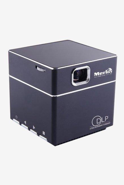 Merlin Cube Mobile Projector (Black)