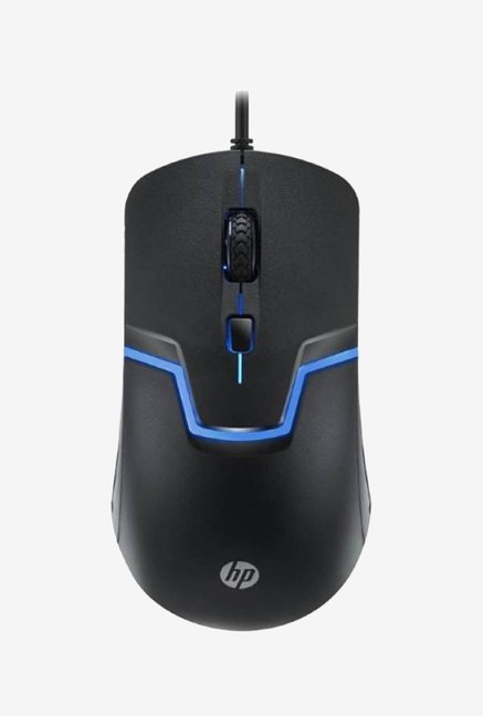 HP M100 Optical Gaming Wired Mouse  Black
