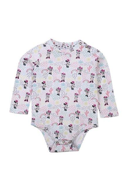 4fd233732f7f Buy Quancious Kids Multicolor Printed Disney Bodysuits for Infant ...