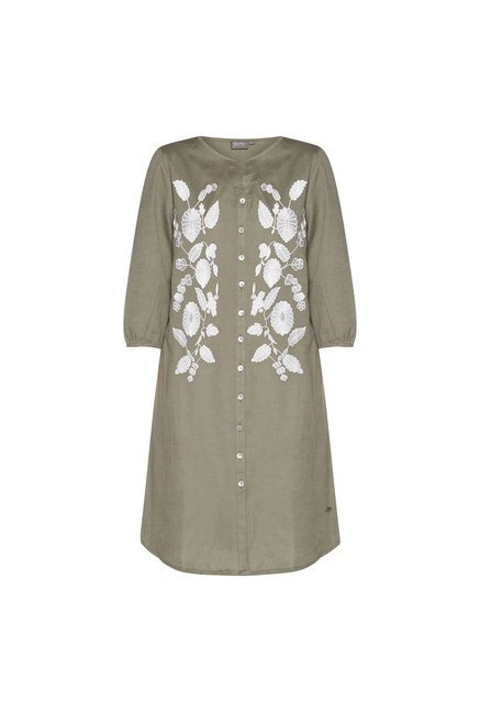 87bf0d3ccc0 Buy Gia curve by Westside Olive Floral Marcia Tunic for Women Online ...