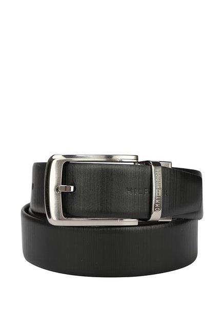 74d5383610aa Buy Tommy Hilfiger Black   Brown Formal Reversible Belt for Men For ...