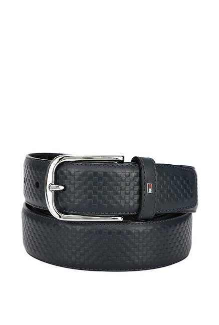 d950d33e5 Buy Tommy Hilfiger Blue Casual Leather Belt for Men For Women At Best Price  @ Tata CLiQ