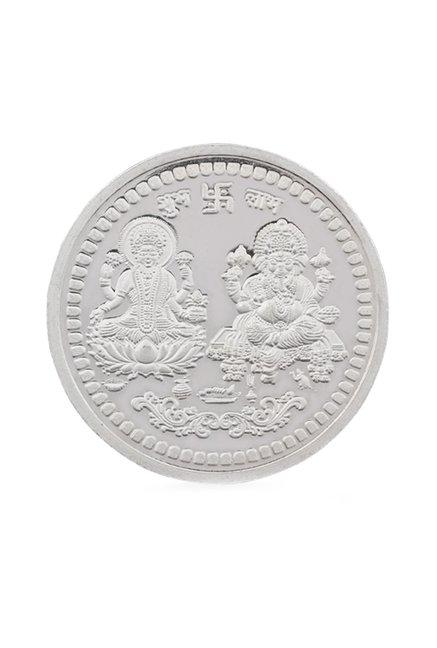 PC Jeweller Laxmi Ganesh 999 20gm Silver Coin