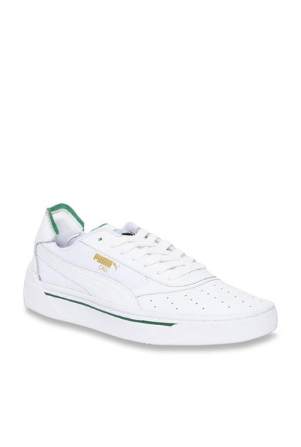 Buy Puma Cali-0 White Sneakers for Men