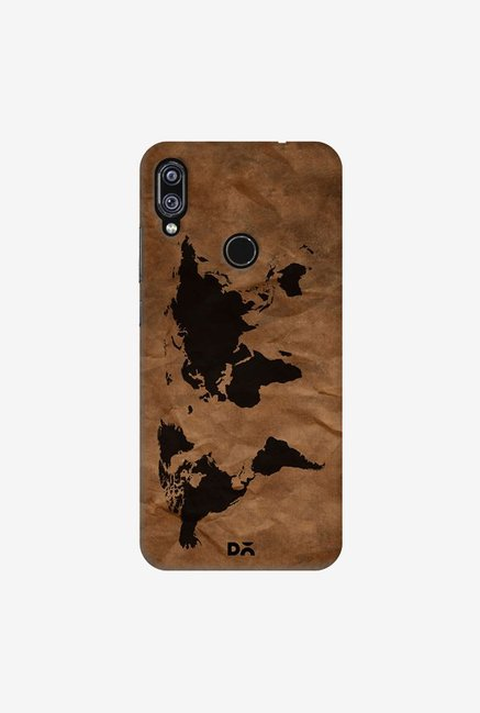 DailyObjects Wrinkled World Map Case Cover For Redmi Note 7