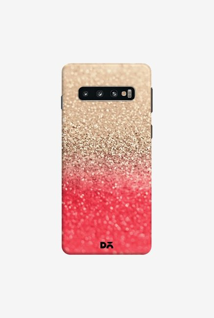 DailyObjects Gatsby Coral Gold Case Cover For Samsung Galaxy S10