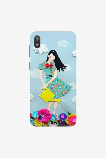 DailyObjects Girl In Flowerland Case Cover For Samsung Galaxy M10