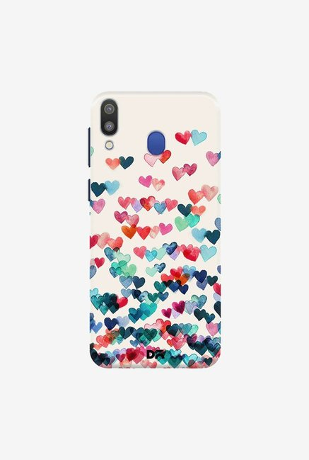DailyObjects Heart Connections Case Cover For Samsung Galaxy M20