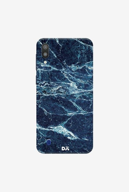 DailyObjects Black And Sea Marble Case Cover For Samsung Galaxy M10