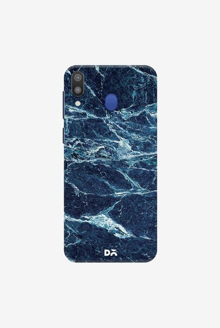 DailyObjects Black And Sea Marble Case Cover For Samsung Galaxy M20