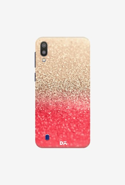 DailyObjects Gatsby Coral Gold Case Cover For Samsung Galaxy M10