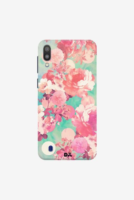 DailyObjects Romantic Pink FloralCase Cover For Samsung Galaxy M10