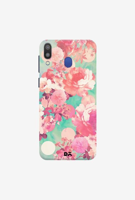 DailyObjects Romantic Pink FloralCase Cover For Samsung Galaxy M20