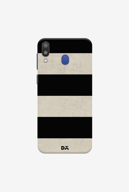 DailyObjects Vintage Black Stripes Case Cover For Samsung Galaxy M20