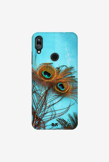 DailyObjects 3 Peacock Feathers Case Cover For Redmi Note 7