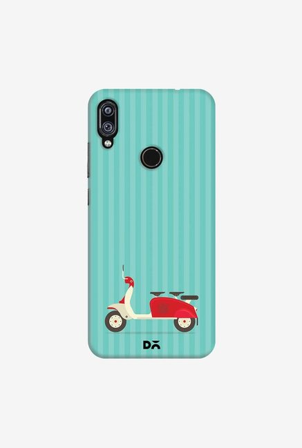 DailyObjects 3 To Go Blue Case Cover For Redmi Note 7