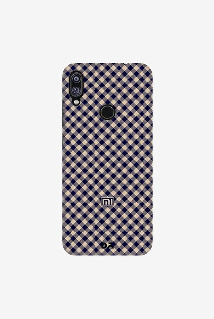 DailyObjects Midnight Gingham Case Cover For Redmi Note 7