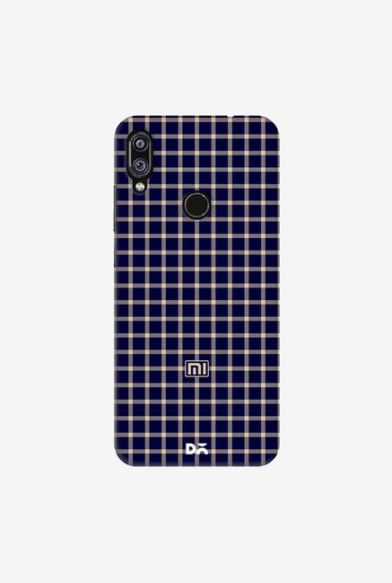 DailyObjects Midnight Windowpane Case Cover For Redmi Note 7
