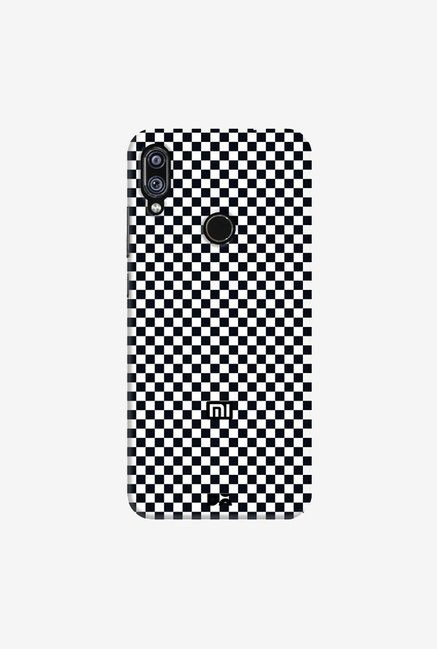 DailyObjects Achromatic Checkerboard Case Cover For Redmi Note 7