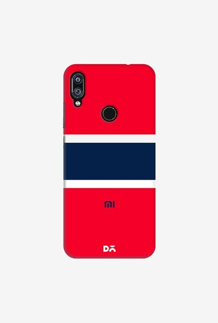 DailyObjects Navy Case Cover For Redmi Note 7