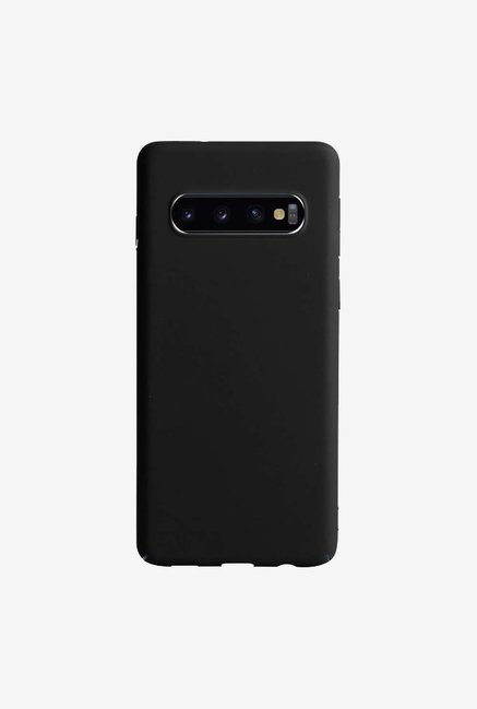 DailyObjects Black Matte Case Cover For Samsung Galaxy S10 Plus