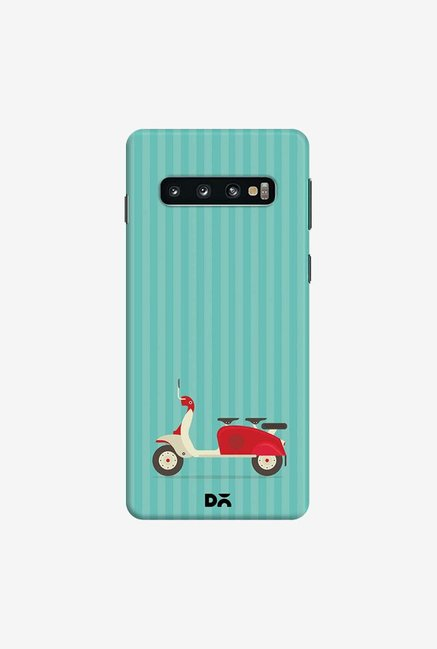 DailyObjects 3 To Go Blue Case Cover For Samsung Galaxy S10
