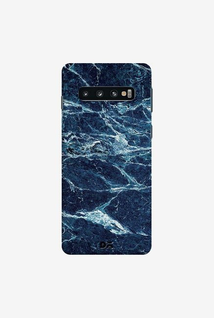 DailyObjects Black And Sea Marble Case Cover For Samsung Galaxy S10